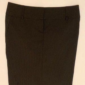 EXPRESS - Black Pinstriped Pencil Skirt - 4